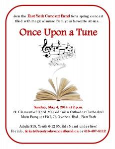 EYCB spring concert 2014 flyer